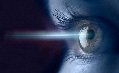 Il laser agli occhi